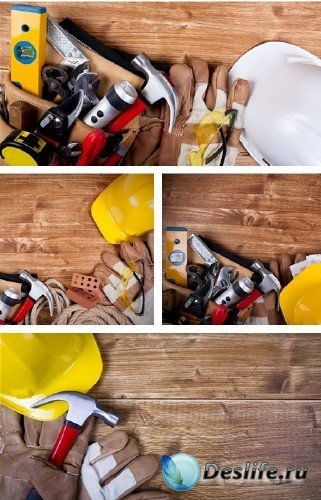 Инструменты и снаряжение рабочего-строителя - фотосток | Stock Photo - Cons ...