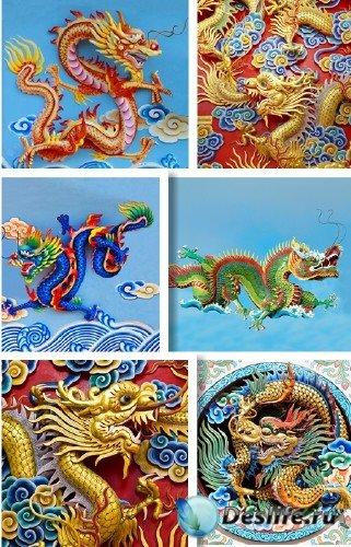 Китайские драконы - фотосток | Stock Photo - Chinese Dragon