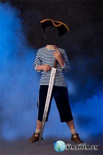 Костюм для фотошопа - Пират