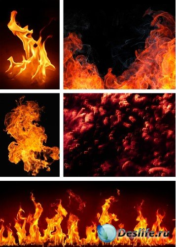 Огонь и пламя - растровый клипарт | Fire And Flame