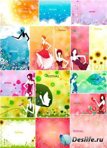 Коллекция Цветочного Вектора #1