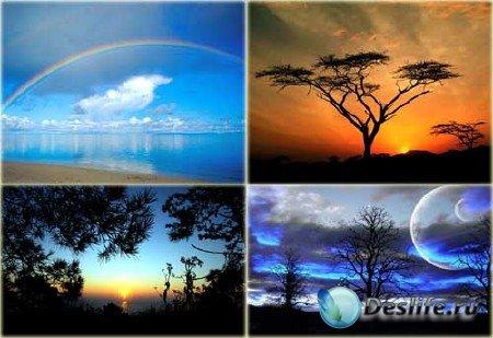 Очень красивые виды неба