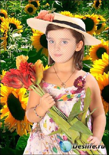 Костюм для Photoshop - Лето у бабушки