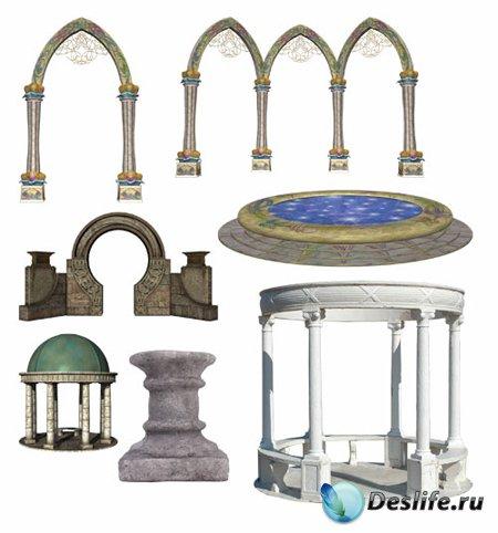 Векторный клипарт – Архитектурные арки