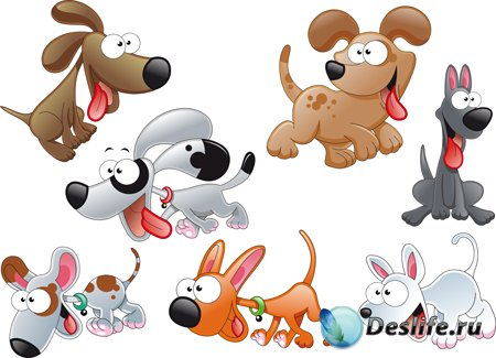 Клипарт - Собаки