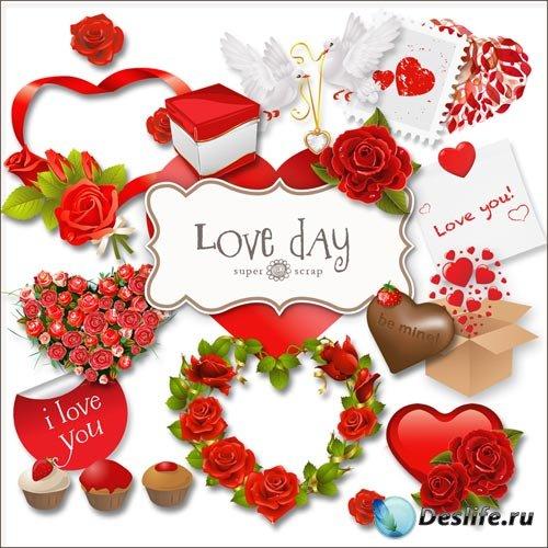 Скрап-набор - День Любви #2
