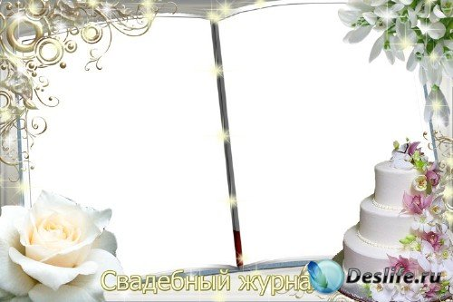 Свадебная рамка для фото – Свадебные подснежники