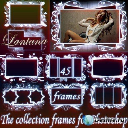 Коллекция рамок для фотошопа - Нежность