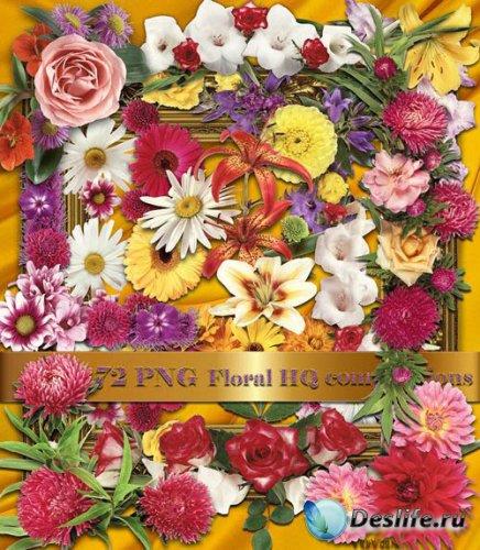 PNG Клипарт - Сборник Цветов Отличного Качества. Часть 1