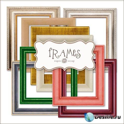 Скрап-набор - Старинные Рамки-вырезы