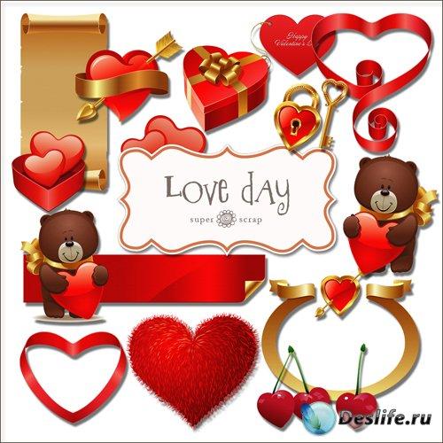 Скрап-набор - Любовный День