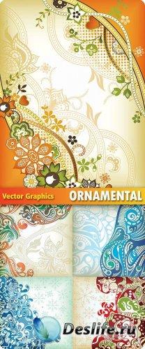 Орнаменты в векторе