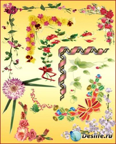 Цветочные уголки для фото