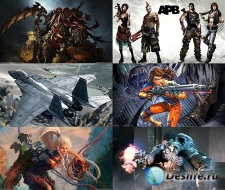 Коллекция обоев на игровую тематику №1