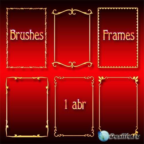 Кисти для Photoshop - Рамки-вырезы