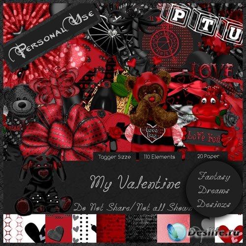 Скрап-набор - Мой День Валентина