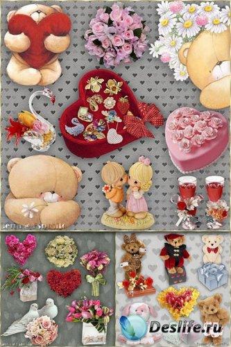 Скрап-набор - Элементы к Дню Святого Валентина