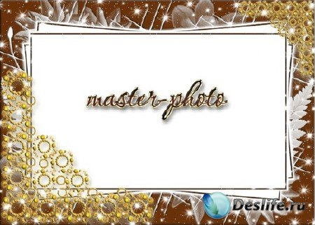 Рамка для фотошопа - Романтика №3