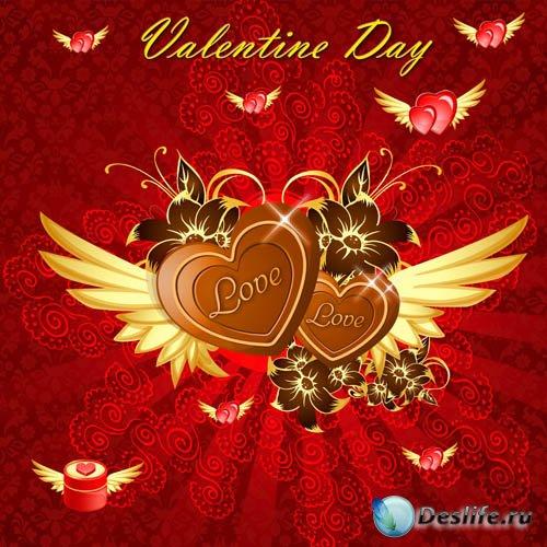 PSD Исходник - День Святого Валентина #1