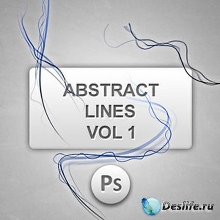 Кисти для фотошопа - Абстрактные линии