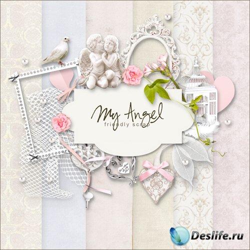 Скрап-набор - Мой Ангел #2
