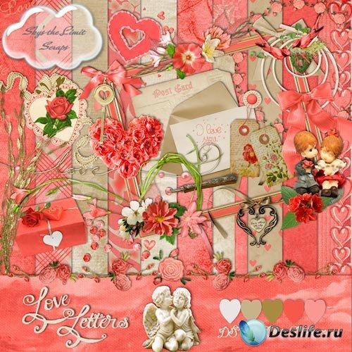 Романтический Скрап-набор - Любовное Письмо