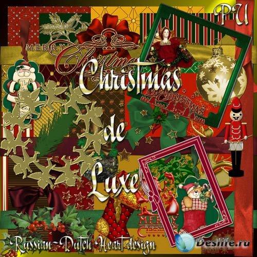 Скрап-набор - Роскошное Рождество