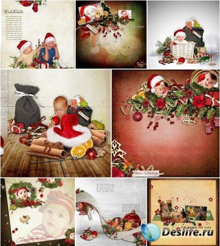 Скрап-набор - Аромат Рождества