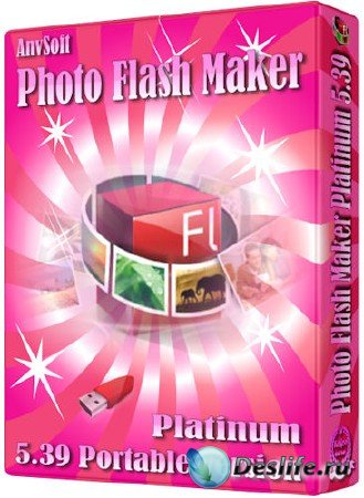 AnvSoft Photo Flash Maker Platinum 5.39 [Portable/Ru]