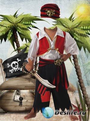 Костюм для фотошопа - Маленький пират