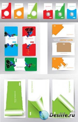 Визитки в векторе / Cards vector Collection