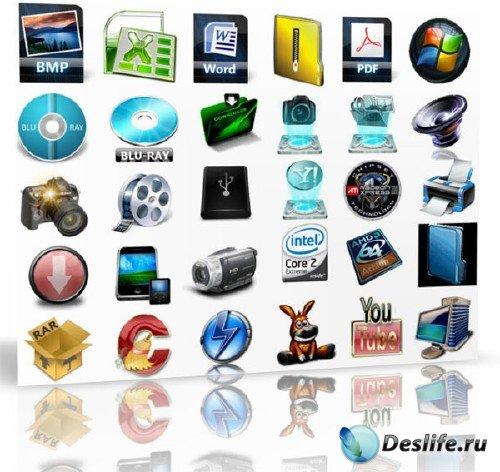 Свежая подборка иконок для Windows