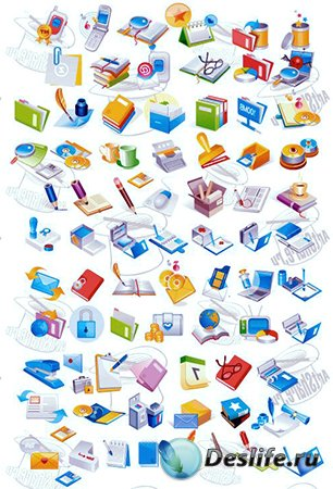 Новый набор иконок в формате ico