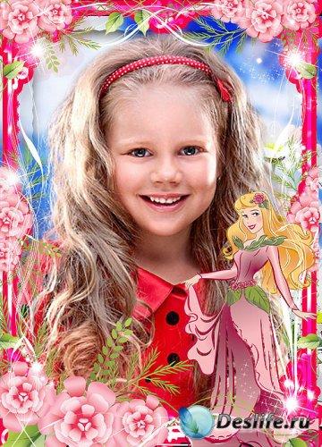 Детская рамка для девочки – Мои принцессы