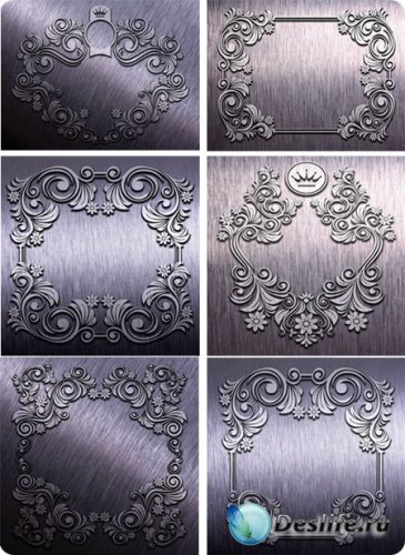 Текстуры для фотошопа - Узоры, металл, плиты