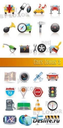 Иконки - Автомобильная отрасль