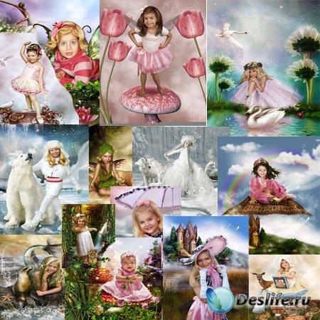 Костюмы для фотошопа - Для девочек
