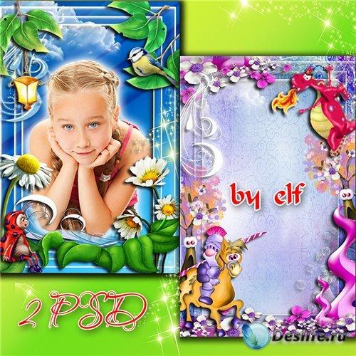 Детские рамки для фото - Любимые сказки
