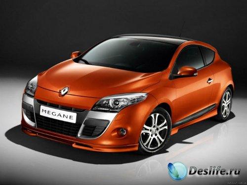 Рено Меган модель / Renault megane 3d model
