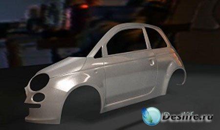 Создание автомобильной краски в 3D Max / Creating a Car Paint Shader