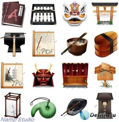 Набор оригинальных иконок