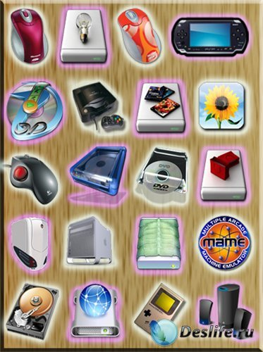 Иконки на рабочий стол на разную тематику 2