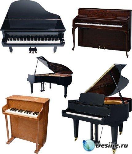 Фотосток: Музыкальные инструменты (рояль, пианино, фано, клависин)
