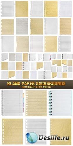 Бумажные бланки и страницы