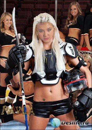 Костюм для Photoshop - Хоккейные фанатки