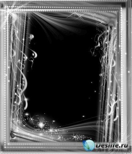Как в фотошопе сделать черную рамку на фото