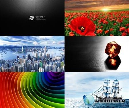 Коллекция обоев на разную тематику №7