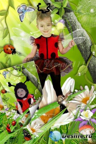 Детский костюм для фотошопа - Божьи коровки
