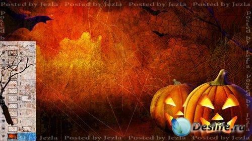 PSD Исходники - Хеллоуин (Halloween)