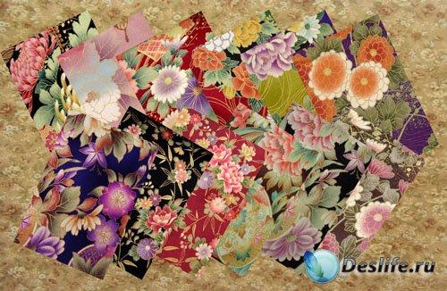 Фоны Цветы в японском стиле часть 1